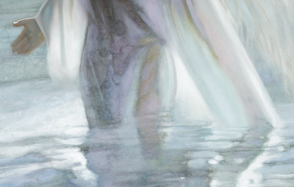 Angel of the Lake Detail